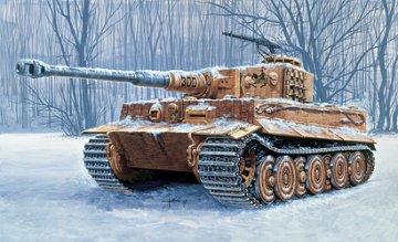 Sd.Kfz. VI Tiger Ausf.. E · IT 6471 ·  Italeri · 1:35