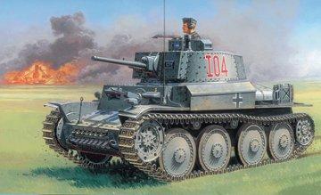 Pz.Kpfw. 38(t) Ausf. E/F · IT 6489 ·  Italeri · 1:35