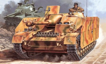 Sd.Kfz.167 Sturmgeschütz  IV · IT 6491 ·  Italeri · 1:35