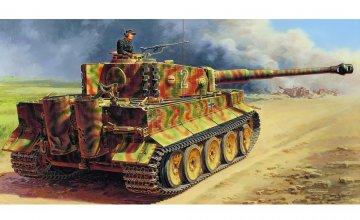 WW2 PzKpfw.VI Tiger I Ausf.E mP. · IT 6507 ·  Italeri · 1:35
