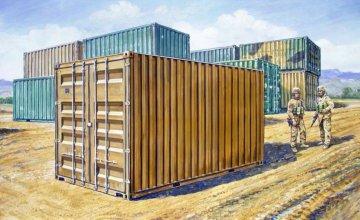 20´ Military Container · IT 6516 ·  Italeri · 1:35