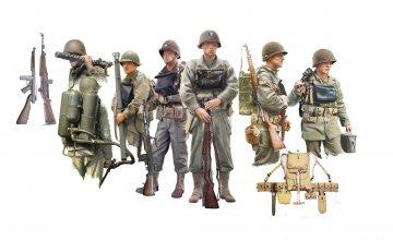 Figuren-Set U.S. Infanterie an Bord · IT 6522 ·  Italeri · 1:35