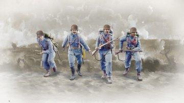 WWI Austro-Hungarian Infantry · IT 6528 ·  Italeri · 1:35