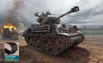 M4A3E8 Sherman Fury · IT 6529 ·  Italeri · 1:35
