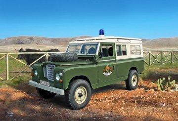 Land Rover 109 Guardia Civil · IT 6542 ·  Italeri · 1:35