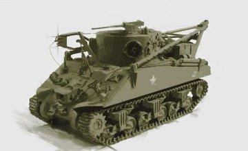 M32 Recovery Vehicle · IT 6547 ·  Italeri · 1:35