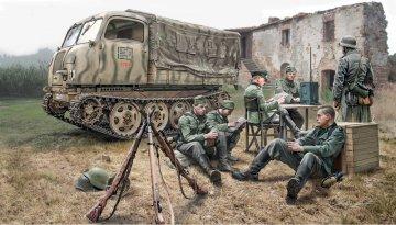 Steyr RSO/01 w/Germ.soldiers+access · IT 6549 ·  Italeri · 1:35