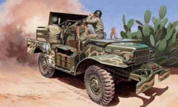 M6 Dodge Anti-Tank · IT 6555 ·  Italeri · 1:35