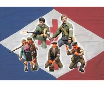 Partisans · IT 6556 ·  Italeri · 1:35