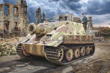 38cm RW 61 auf Sturmmöser Tiger · IT 6573 ·  Italeri · 1:35