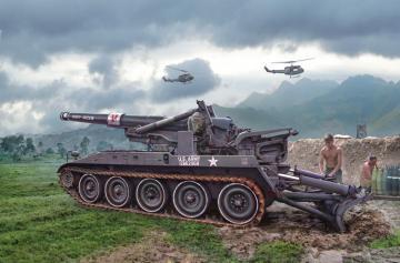 M110 Self Propelled Howitzer · IT 6574 ·  Italeri · 1:35