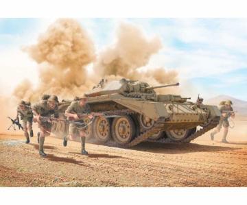 Crusader Mk.II m. Infanterie Figuren (5) · IT 6579 ·  Italeri · 1:35