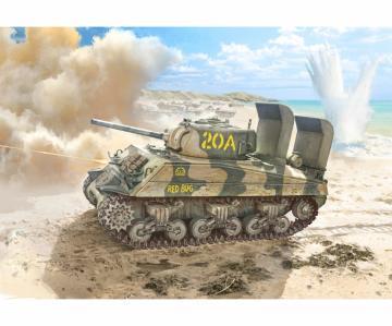 M4A2 U.S. Panzer Marine Corps · IT 6583 ·  Italeri · 1:35