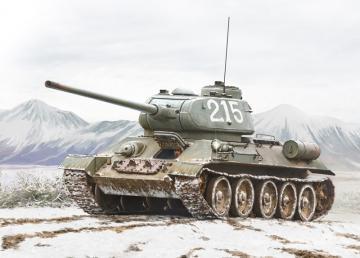 T-34/85 · IT 6585 ·  Italeri · 1:35