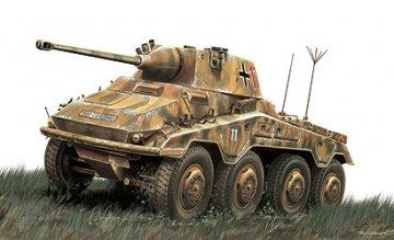 Sd.Kfz. 234/2 Puma · IT 6601 ·  Italeri · 1:48