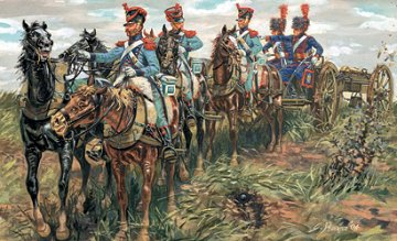 French Line Guard Artillery · IT 6867 ·  Italeri · 54 mm