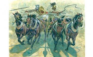 Gladiators with Quadriga · IT 6874 ·  Italeri · 54 mm
