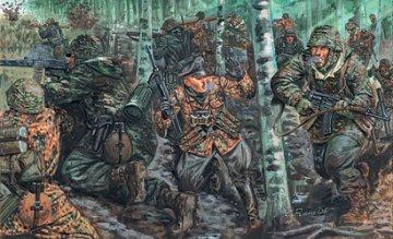 German Elite Troops WW II · IT 6875 ·  Italeri · 1:32