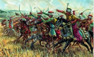 Mamelukes, Napoleonics Wars · IT 6877 ·  Italeri · 1:32