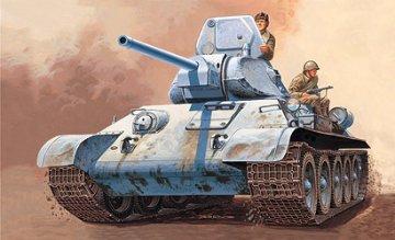 T-34/76 M Russian Tank · IT 7008 ·  Italeri · 1:72
