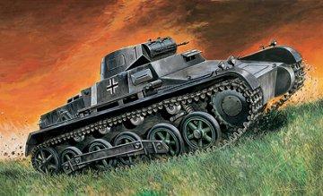 Pz. Kpfw. I Ausf. B · IT 7042 ·  Italeri · 1:72