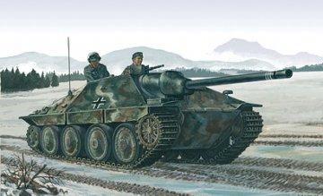 Jagdpanzer 38 (t) Hetzer · IT 7057 ·  Italeri · 1:72