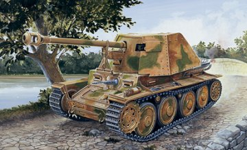 Sd.Kfz. 138 Panzerjäger Marder III Ausf. H · IT 7060 ·  Italeri · 1:72