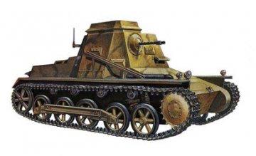 Sd.Kfz 265 Kleiner Panzerbefehlswagen · IT 7072 ·  Italeri · 1:72