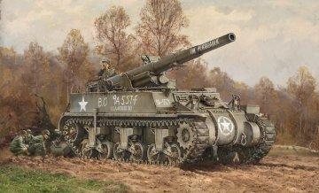 US M12 GMC Howitzer · IT 7076 ·  Italeri · 1:72