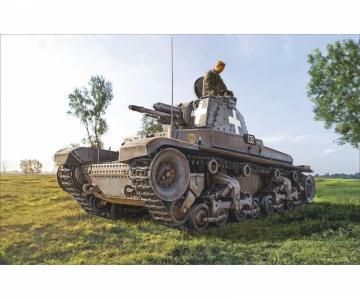 German Panzerkampfwagen 35 (t) · IT 7084 ·  Italeri · 1:72