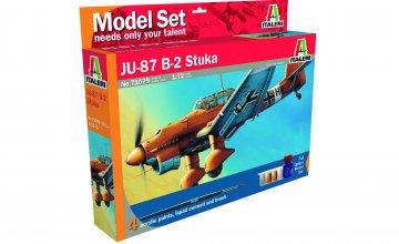 Junkers JU 87 B2 Stuka · IT 71079 ·  Italeri · 1:72