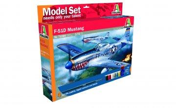 P-51 D Mustang · IT 71086 ·  Italeri · 1:72