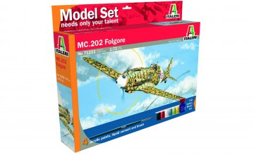 MC.202 Folgore · IT 71222 ·  Italeri · 1:72