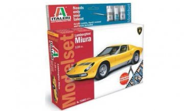 Lamborghini Miura · IT 72002 ·  Italeri · 1:72