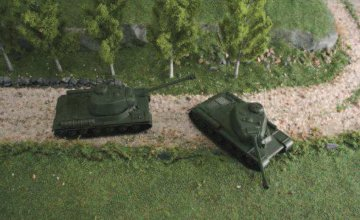 JS-2m Stalin - Soviet. Panzer · IT 7502 ·  Italeri · 1:72