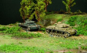 Pz.Kampfwagen. III J · IT 7507 ·  Italeri · 1:72