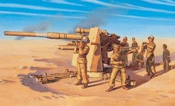 Fliegerabwehrkanone 37 AA, 8,8cm · IT 7512 ·  Italeri · 1:72