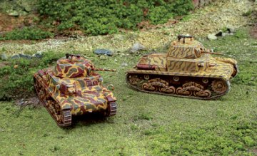 Panzer M13/40 - 2 Stück · IT 7517 ·  Italeri · 1:72