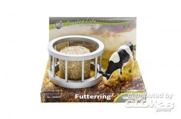 Futterring mit Ballen und Kuh · KGCL 0557 ·  KidsGlobe Country Life · 1:32