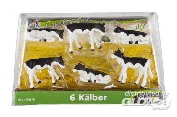 Kälber 6 St. 1:32 · KGCL 0575 ·  KidsGlobe Country Life