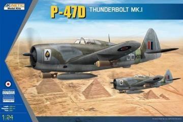 P-47D Thunderbolt Mk.1  · KIN 3212 ·  Kinetic Model Kits · 1:24