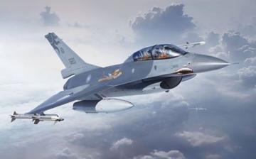 F-16A/B ROCAF 70TH ANN.Marking · KIN 48055 ·  Kinetic Model Kits · 1:48