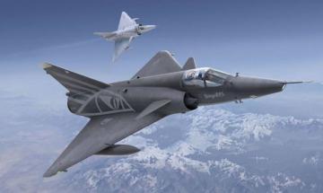 Mirage IIIS/RS · KIN 48058 ·  Kinetic Model Kits · 1:48