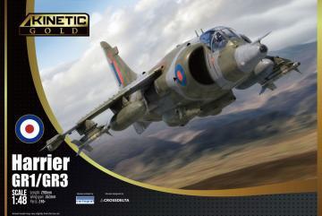 Harrier GR1/GR3 · KIN 48060 ·  Kinetic Model Kits · 1:48