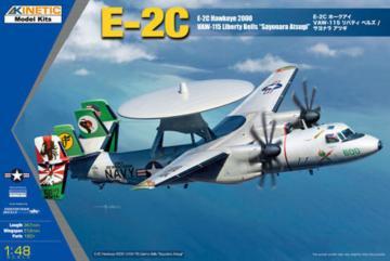 E-2C Hawkeye 2000 LIB BELLS ASTUGI · KIN 48066 ·  Kinetic Model Kits · 1:48