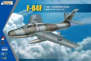 F-16C RSAF Black Knight · KIN 48068 ·  Kinetic Model Kits · 1:48