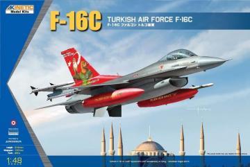 F-16C Turkish Air Force - Tiger Meet 2007 · KIN 48069 ·  Kinetic Model Kits · 1:48