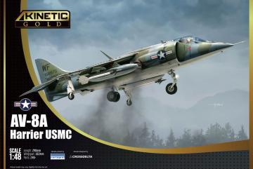 AV-8A USMC · KIN 48072 ·  Kinetic Model Kits · 1:48