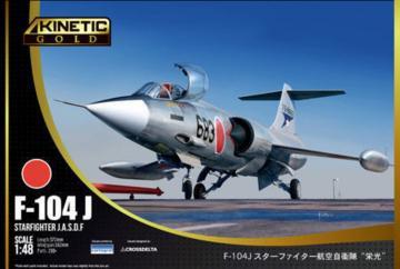F-104J Starfighter JASDF · KIN 48080 ·  Kinetic Model Kits · 1:48
