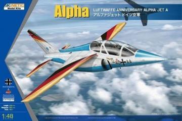 Alpha Jet - Lufftwaffe · KIN 48087 ·  Kinetic Model Kits · 1:48